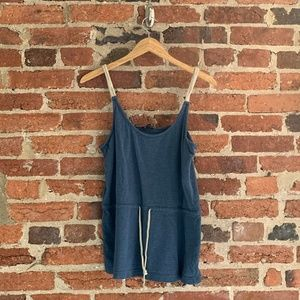 Nautica - Nautical Blue Top with Rope Straps